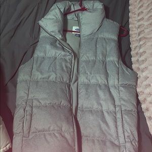 Old Navy Women's Gray Vest